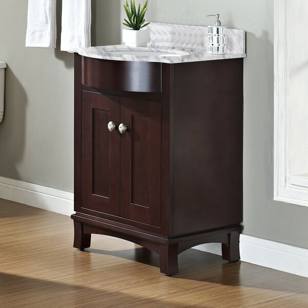 Kester 24 Rectangle Wood Single Bathroom Vanity Set by Darby Home Co