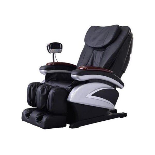 Review Electric Shiatsu Stretched Foot Rest Reclining Full Body Massage Chair