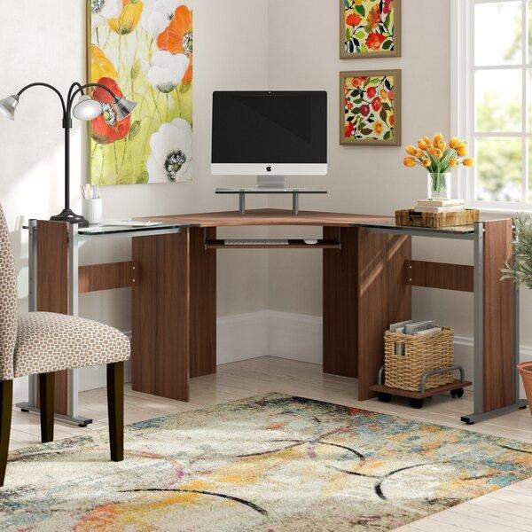 Cassiopeia L-Shape Computer Desk by Latitude Run