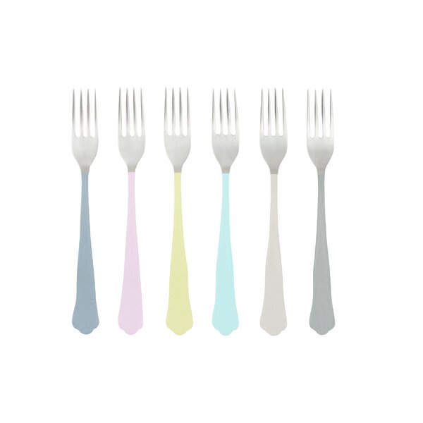 Jaipur Dessert Fork (Set of 6) by Canvas Home