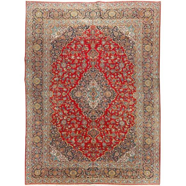 Vintage Kashan Carpet Circa 1950, 10'4 x 14'5