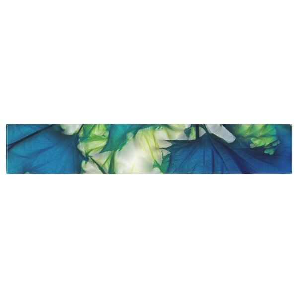 Alison Coxon Leaves Table Runner by East Urban Home