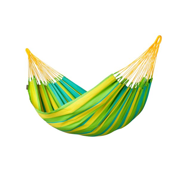 Sonrisa Weatherproof Single Olefin Tree Hammock by LA SIESTA