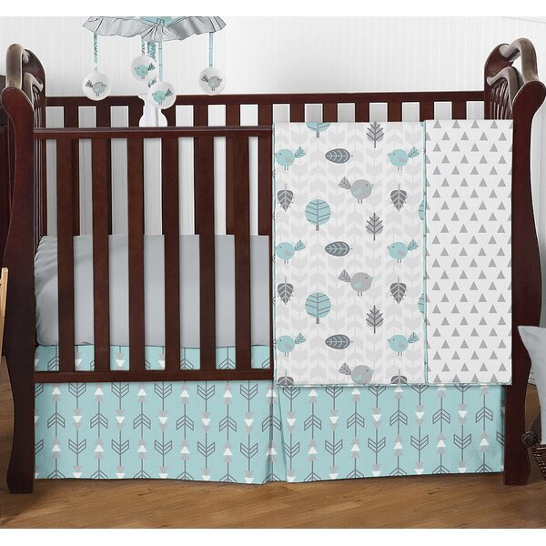 Earth and Sky 4 Piece Crib Bedding Set by Sweet Jojo Designs