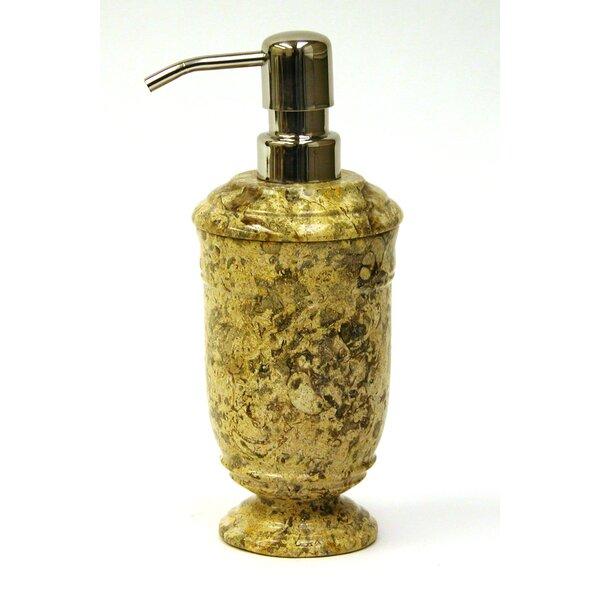 Fossil Stone Liquid Soap Dispenser by Nature Home Decor