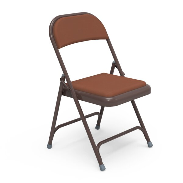 168 Series Vinyl Padded Folding Chair (Set of 4) by Virco