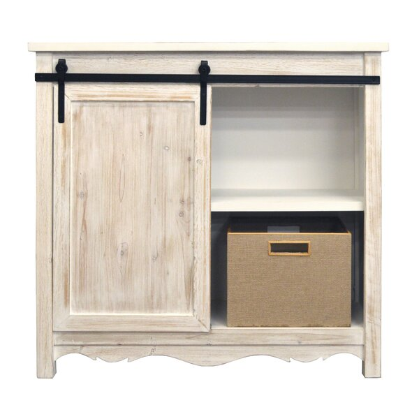 Kees Barn 1 Door Accent Cabinet by Gracie Oaks