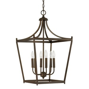 Brickyard 6-Light Foyer Pendant
