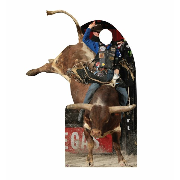 PBR Professional Bull Rider Standin Standup by Advanced Graphics
