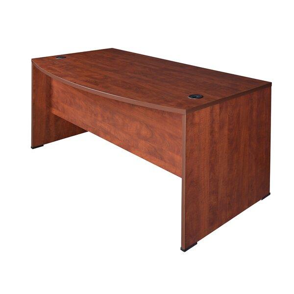 Quintero Bow Front Desk by Latitude Run