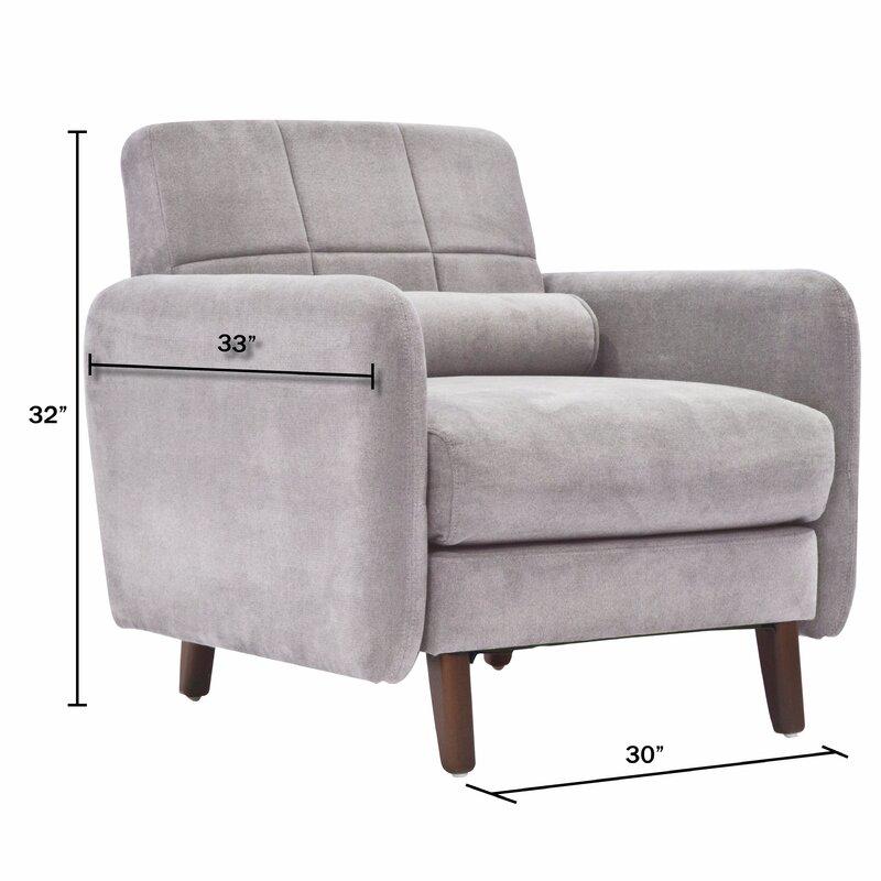 High Quality Natalie Mid Century Modern Armchair