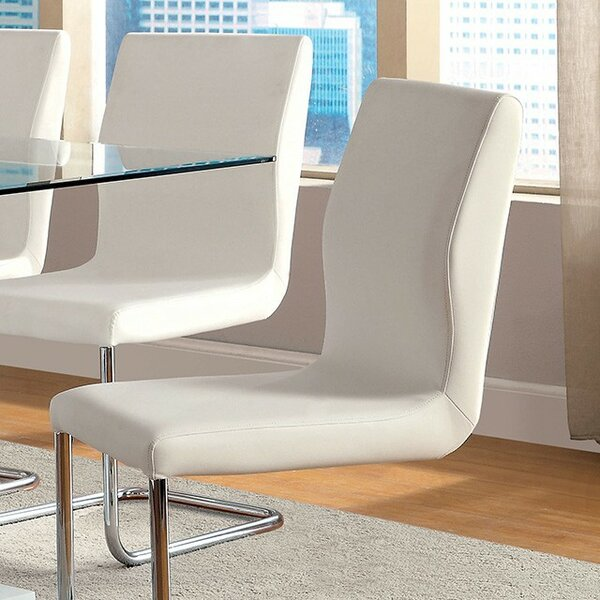 Waller Upholstered Dining Chair (Set of 2) by Orren Ellis