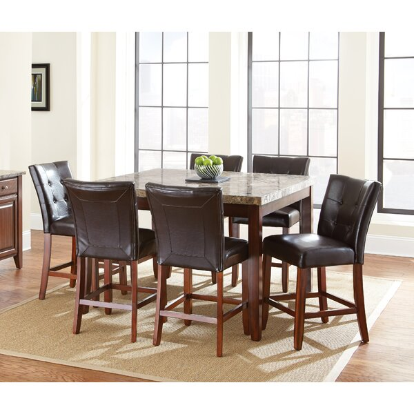 Lawhon 7 Piece Pub Table Set by Millwood Pines