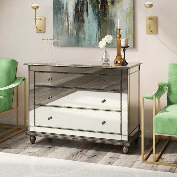 Nupur 3 Drawer Accent Chest by Willa Arlo Interiors Willa Arlo Interiors