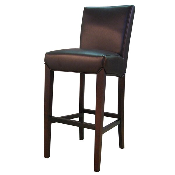 Ginevra  29.5 Bar Stool with Cushion by Breakwater Bay