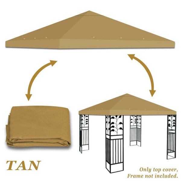 Replacement Gazebo Canopy Top by Strong Camel