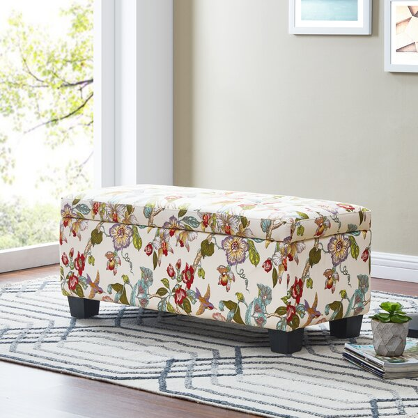 Uriegas Tufted Storage Ottoman by Red Barrel Studio