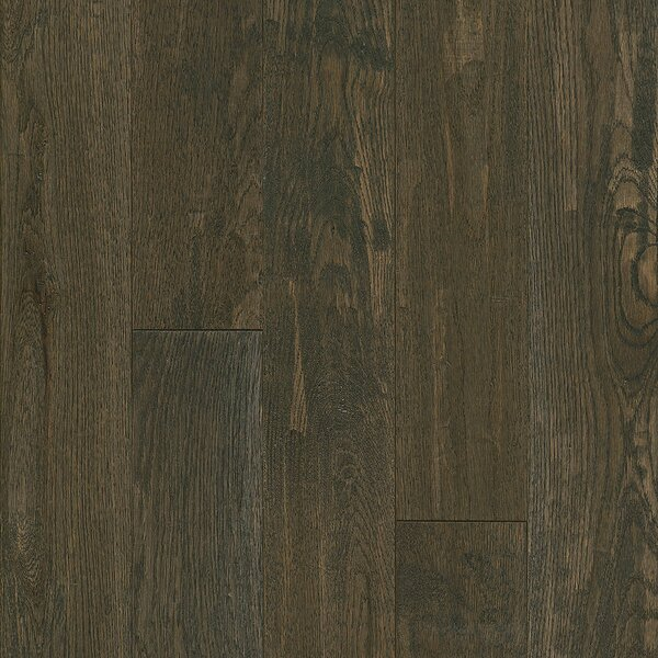 Signature Scrape 5 Solid Oak Hardwood Flooring in Coastal Plain by Armstrong Flooring