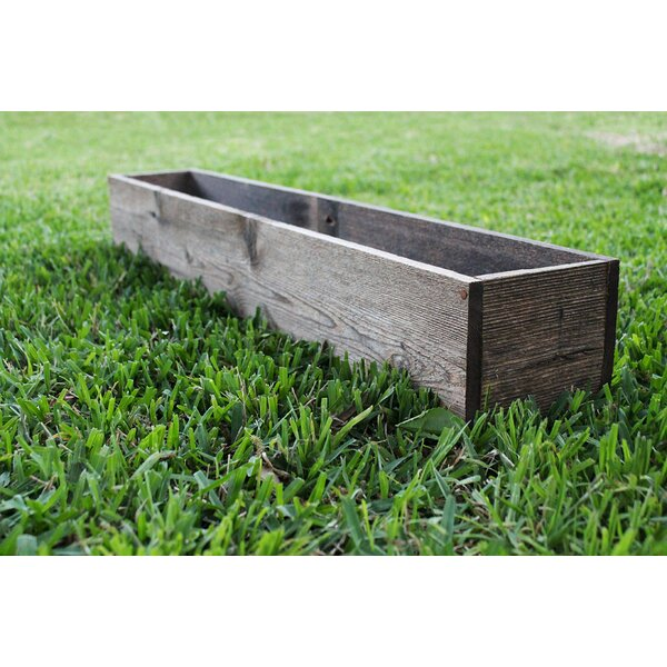 Hannah Wood Planter Box by Loon Peak