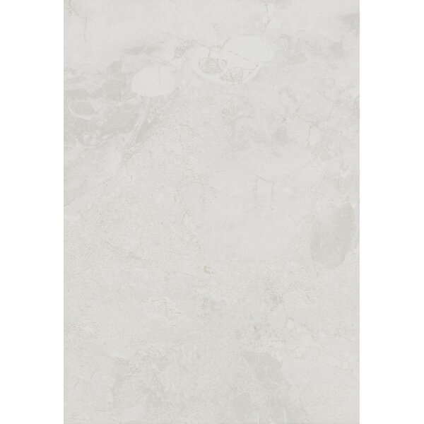 Bedford 10 x 14 Ceramic Field Tile in White Water by Itona Tile