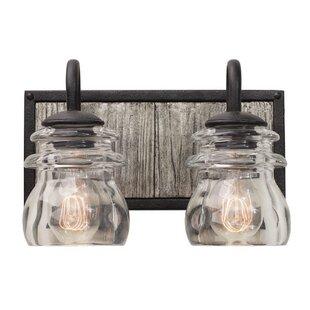 Best Price Bainbridge 2-Light Vanity Light By Kalco