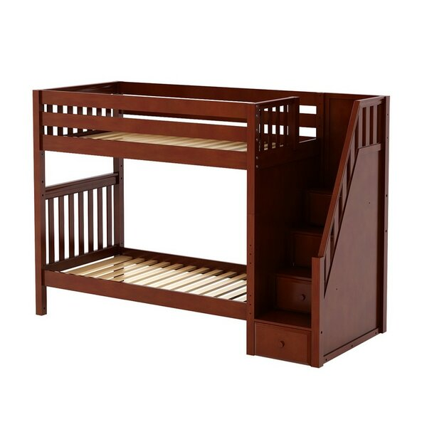 Boler Twin Over Twin Bunk Bed with Drawers by Harriet Bee