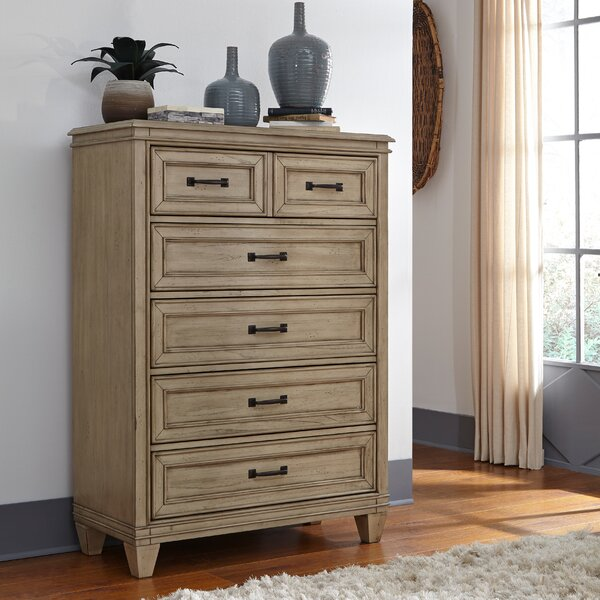 Hazzard 5 Drawer Chest by Charlton Home