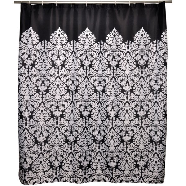 Dorchester Damask Shower Curtain by House of Hampton