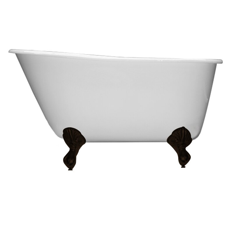 Cambridge Plumbing 53 5 X 29 5 Claw Foot Slipper Bathtub