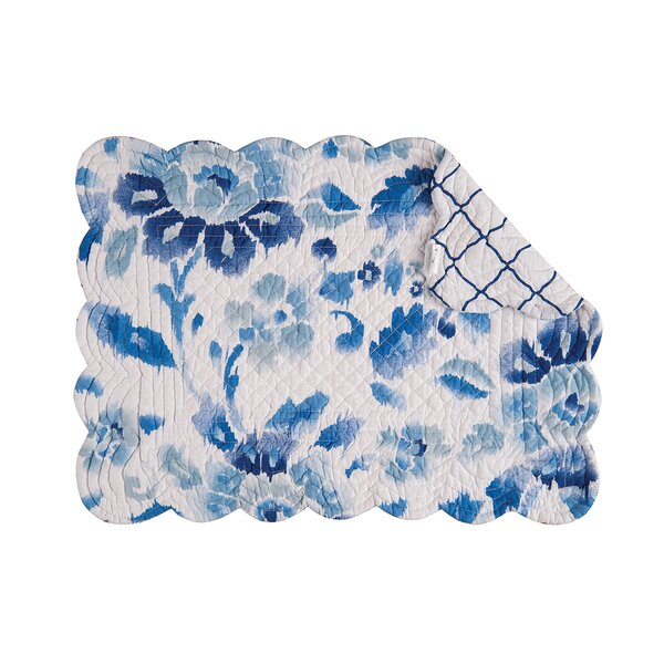 Wilmette Quilted Reversible Placemat (Set of 6) by Three Posts