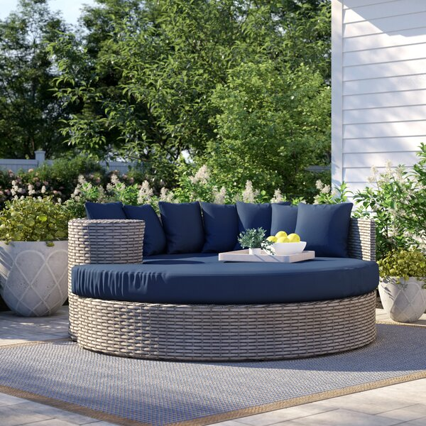 Theodora Patio Daybed With Cushions By Sol 72 Outdoor by Sol 72 Outdoor Read Reviews