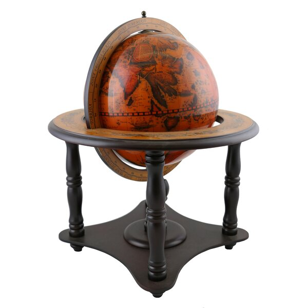 Wooden Decorative Geographic Table Top Teacher Globe by Bloomsbury Market