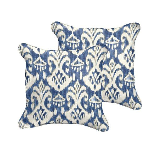 Jenifer Reagan II Indoor/Outdoor Throw Pillow (Set of 2) by Fleur De Lis Living