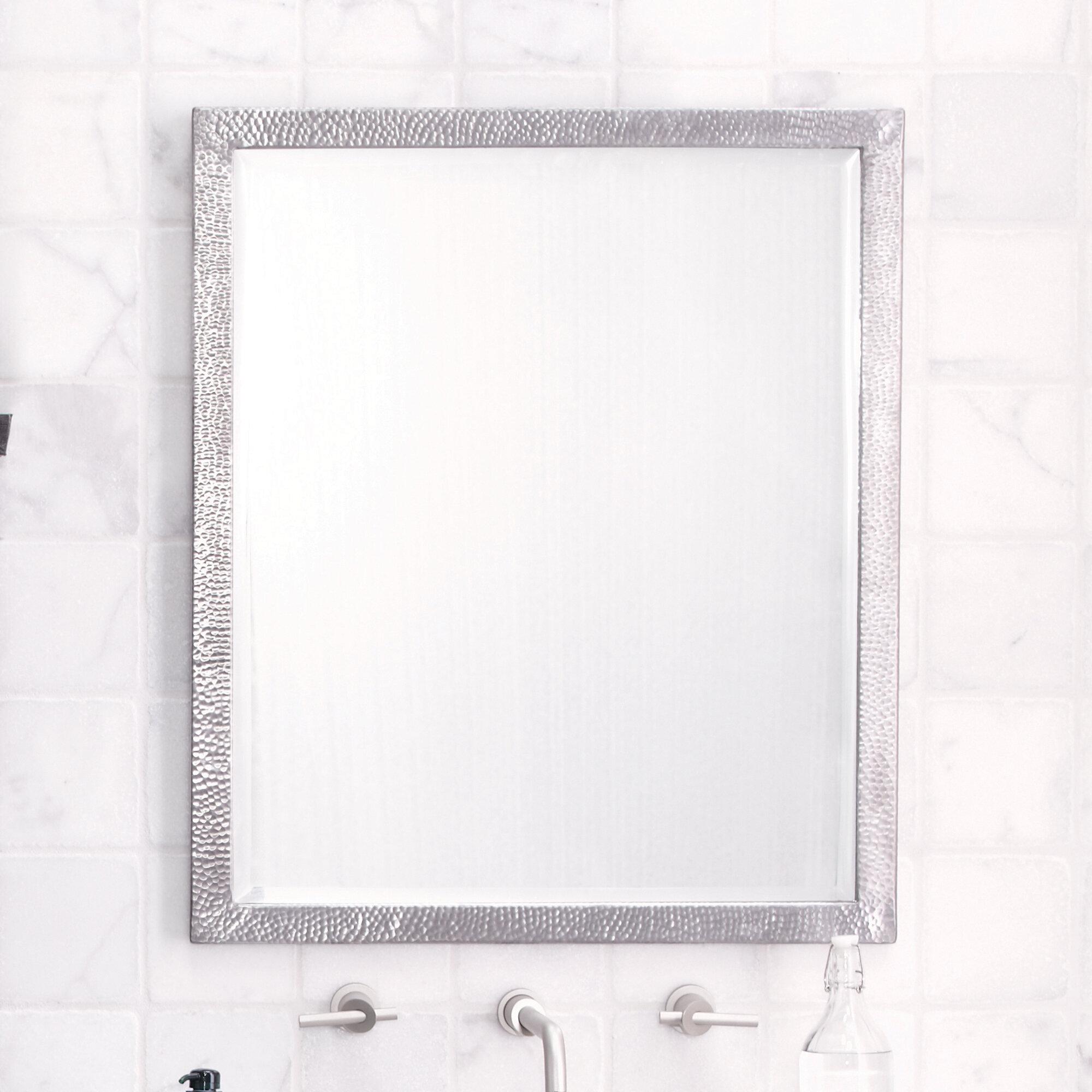Native Trails Renewal Divinity Large Modern Contemporary Beveled Bathroom Vanity Mirror Reviews Wayfair