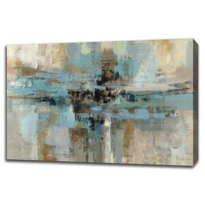 Morning Fjord Painting Print on Gallery Wrapped Canvas by Tangletown Fine Art