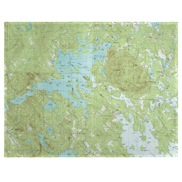 Squam Lake, NH 18 Placemat (Set of 4) by East Urban Home