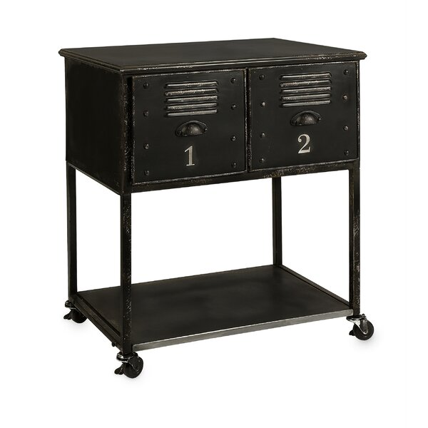 Fayette 2-Drawer Kitchen Cart by Williston Forge