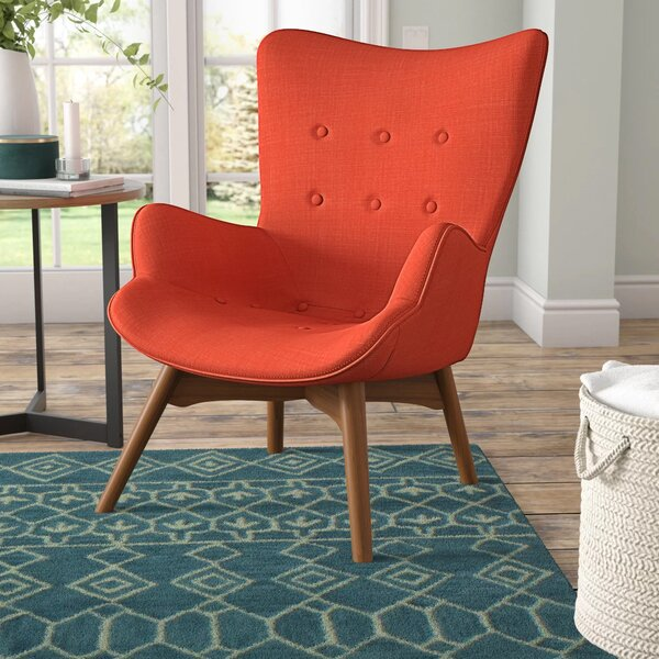 Canyon Vista Mid-Century Lounge Chair by Langley Street
