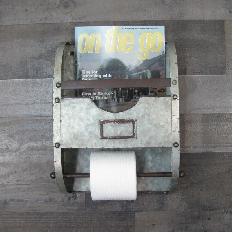 Primitive *Black Barn Star*Toilet Paper Holder*The Country House Collection *