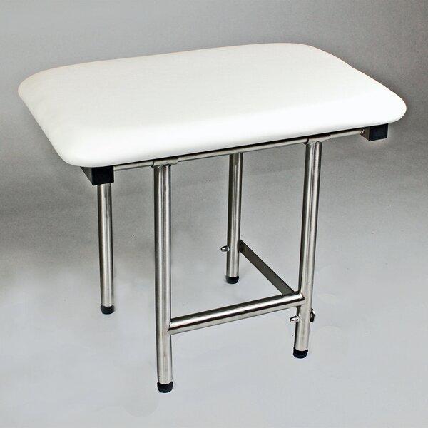 22 x 16 Rectangular Padded Shower Seat by CSI Bathware