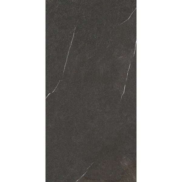 Lifestone 12 x 24 Porcelain Field Tile in Dark Gray by Madrid Ceramics