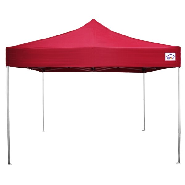 Ultra Lite 10 Ft. W x 10 Ft. D Aluminum Pop-Up Canopy by Impact Instant Canopy