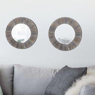 Highland Dunes Mourya Accent Mirror