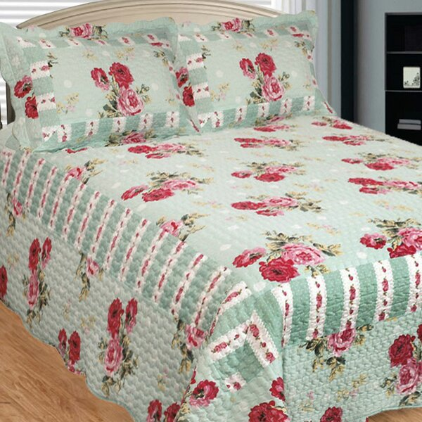 Russelliana Rest 3 Piece Reversible Quilt Set by Patch Magic