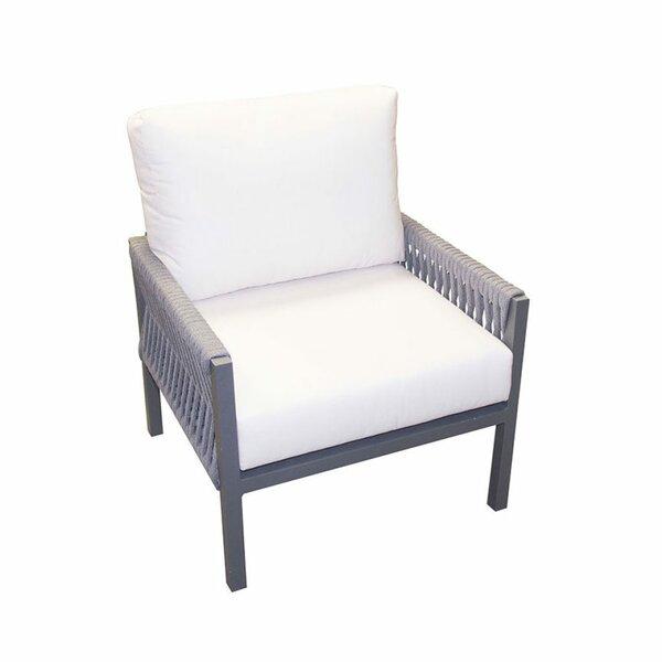 Chipps Patio Chair with Sunbrella Cushions by Brayden Studio