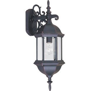 Top Reviews Shifflett 1-Light Outdoor Wall Lantern By Alcott Hill