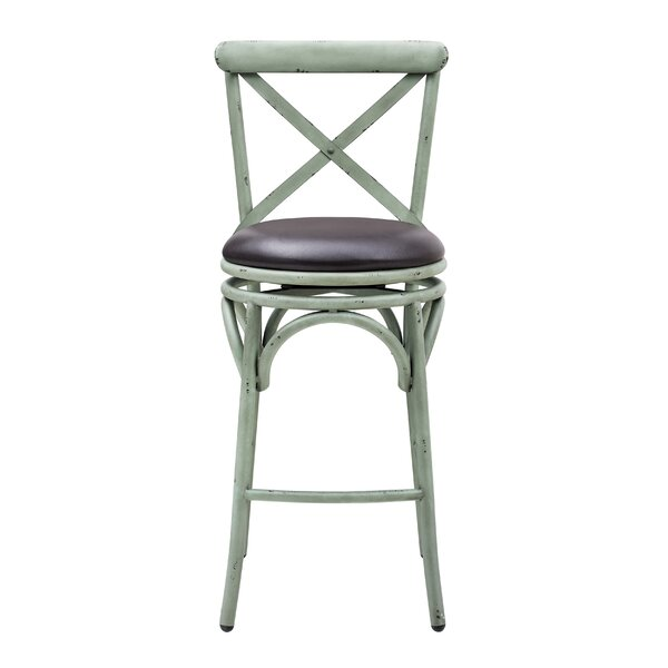 Woodbranch Swivel Bar Stool by Greyleigh