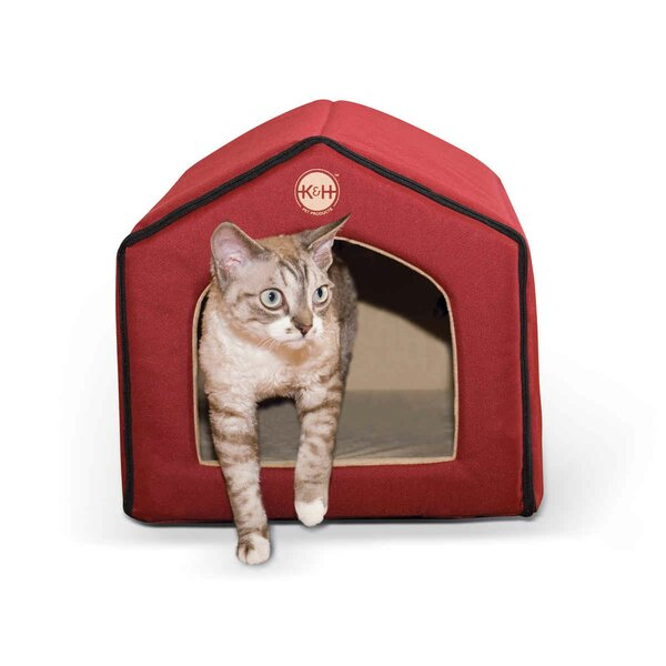 Heated Indoor Cat House by K&H Manufacturing