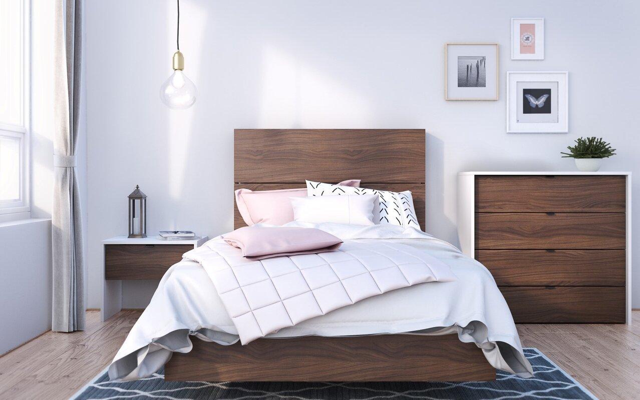twin platform bed. Duley Twin Platform Bed