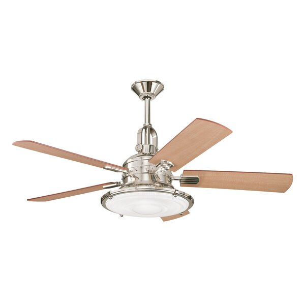 52 Maglione 5 Blade LED Ceiling Fan by Andover Mills